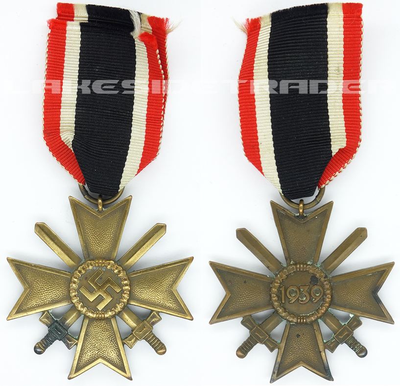 2nd Class War Merit Cross with Swords