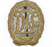 DRL Bronze Sports Badge by E. L. Müller