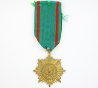 Gold 2nd Class Ostvolk Medal with Swords