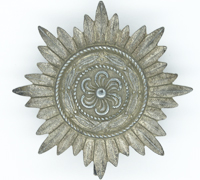 Silver 1st Class Ostvolk Medal without Swords