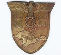 Krim Campaign Arm Shield by Friedrich Orth