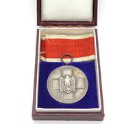 Cased Social Welfare Medal by Godet