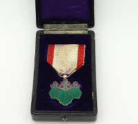 Cased Order of the Rising Sun 7th Class