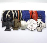 Five Place Medal Bar