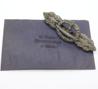 Silver U-Boat Front Clasp by Schwerin