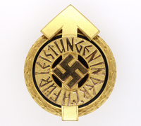 Hitler Youth Leader Sports Badge by RZM M1/101
