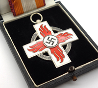 Cased 2nd Class Fire Brigade Service Cross
