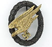 Luftwaffe Paratrooper Badge by G. H. Osang
