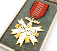 Cased 2nd Class Olympic Decoration 1936