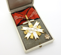 Cased 1st Class Olympic Neck Order 1936