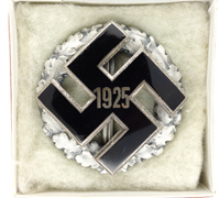 Cased NSDAP General Honor Gau Badge 1925