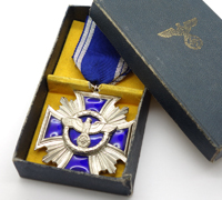 Cased 15 Year NSDAP Long Service Award
