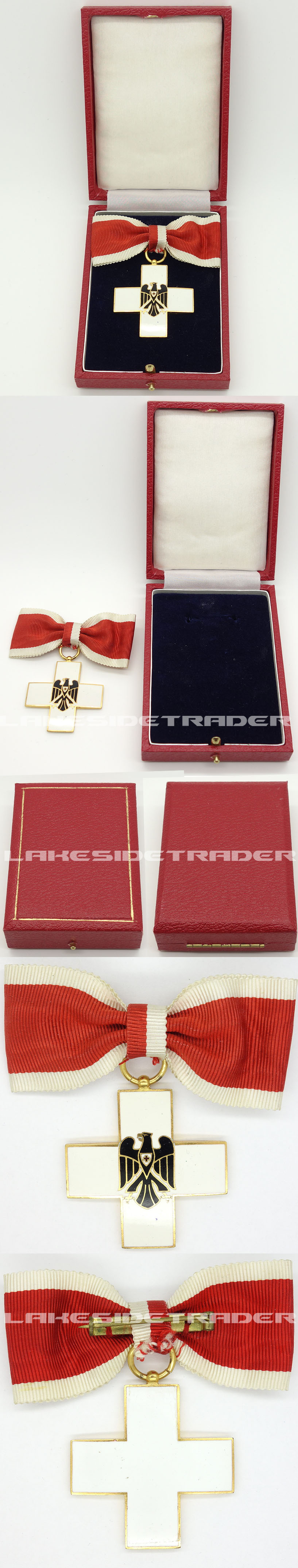 Cased German Red Cross Decoration Type II (1934-1937)