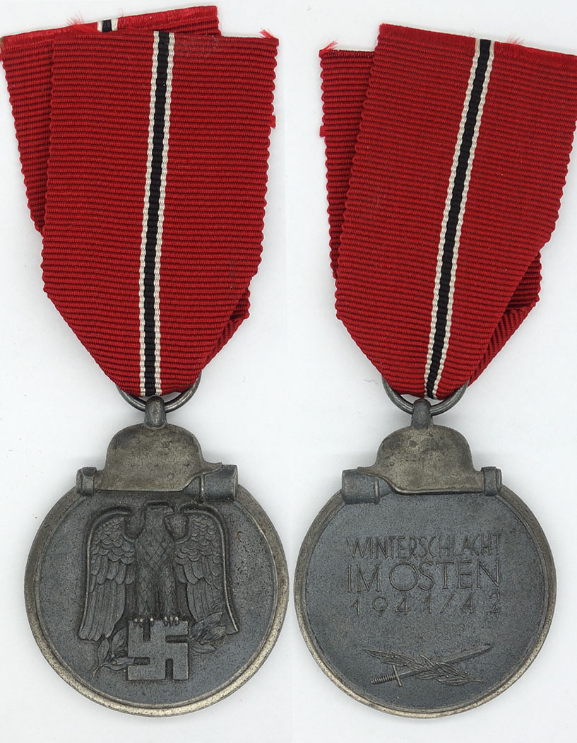 Eastern Front Medal by Gustav Brehmer