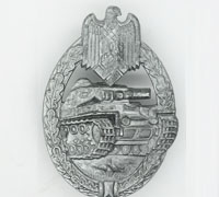 Silver Panzer Assault Badge by A. Rettenmaier