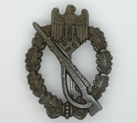 Bronze Infantry Assault Badge by Unknown Maker