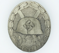Silver Wound Badge by L. Chr. Lauer