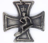 "1960's - Fantasy ""Surfer's Cross"" Iron Cross"