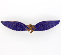 Civil Pilot's Badge by C. E. Juncker