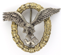 J1 Pilot Badge by C. E. Juncker
