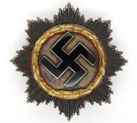 German Cross in Gold by Deschler & Sohn