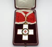Cased 1st Class Red Cross Honor Award 1st Model by Godet