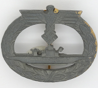 U-Boat Badge by Rudolf Souval