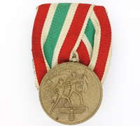 Court Mount - Memel Medal by Hauptmünzamt