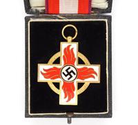 Cased 1st Class Fire Brigade Decoration 1938