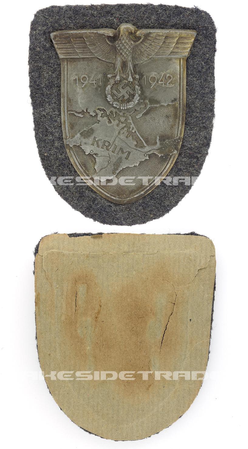 Luftwaffe Krim Campaign Arm Shield by W. Deumer