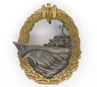 Navy Destroyer Badge by Schwerin