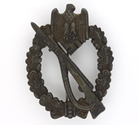Bronze Infantry Assault Badge by M.K.1.