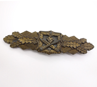 Bronze Close Combat Clasp by C.E. Juncker