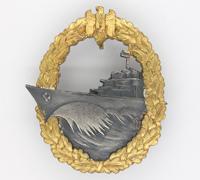 Minty - Destroyer War Badge by Schwerin