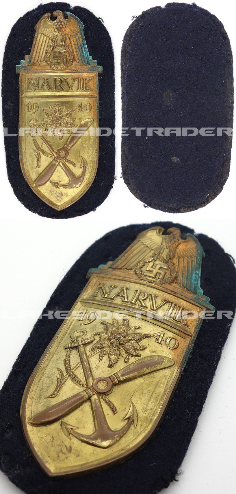 Narvik Campaign Arm Shield