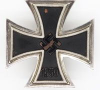 Early 1st Class Iron Cross by Deumer