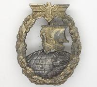 Auxiliary Cruiser War Badge