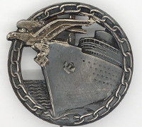 Navy Blockade Runner Badge by Schwerin