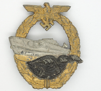 2nd Pattern S-Boat Badge by Schwerin