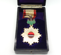 Cased Order of the Rising Sun 3rd Class