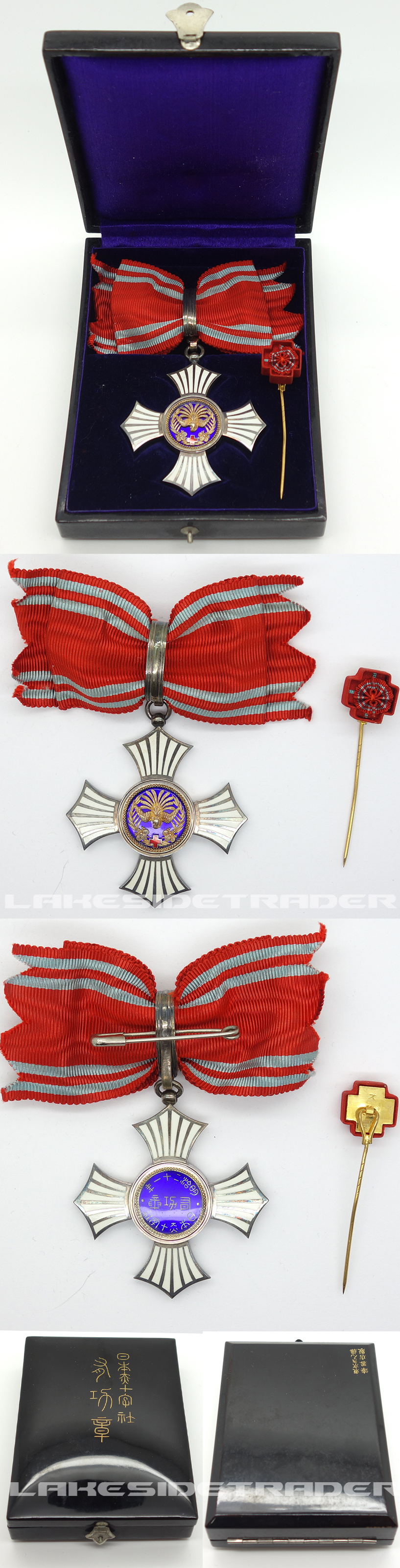 Cased Red Cross Order of Merit