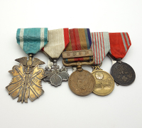 Japanese 5 Place Medal Bar