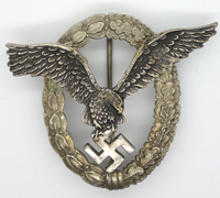 Luftwaffe Pilot Badge by B&N L