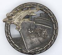 Navy Blockade Runner Badge by Schwerin