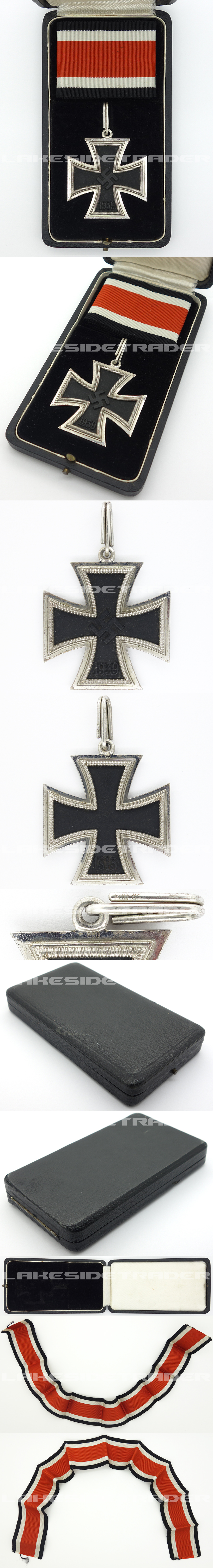 Cased Knights Cross by Klein & Quenzer