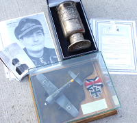 Luftwaffe Honor Goblet to RK Winner with 900 missions