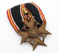 Court Mount - Spanish Cross for Next of Kin