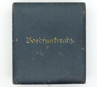 Luftwaffe Radio Operator/Air Gunner Badge Case