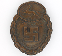 Gau East Hanover Commemorative Badge 1933