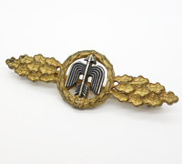 Luftwaffe Short Range Day Fighter Clasp in Gold
